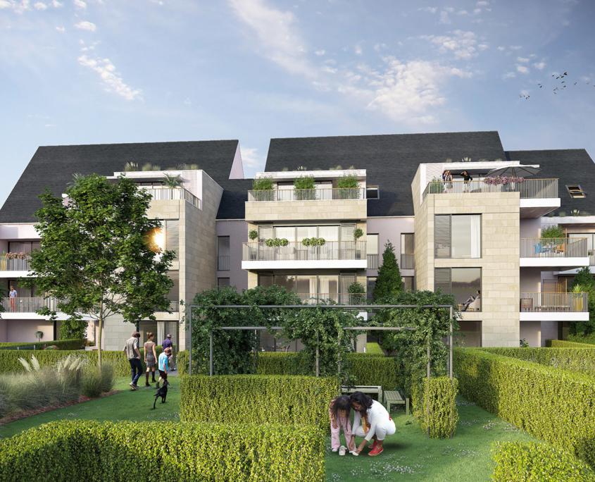 CIM Promotion - Résidence Jardin d'Élysée